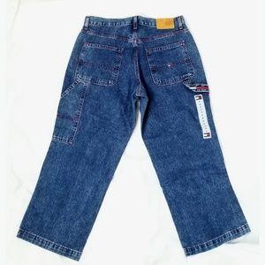 Tommy Hilfiger Blue Denim Cargo Jeans